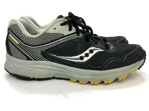 Image is loading Saucony-Cohesion-10-Black-Gray-Running-Shoes-Men- df478572d0cc6