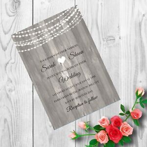 Personalised-Handmade-Wedding-Invitations-Invites-Day-Evening-x-50-AWI19