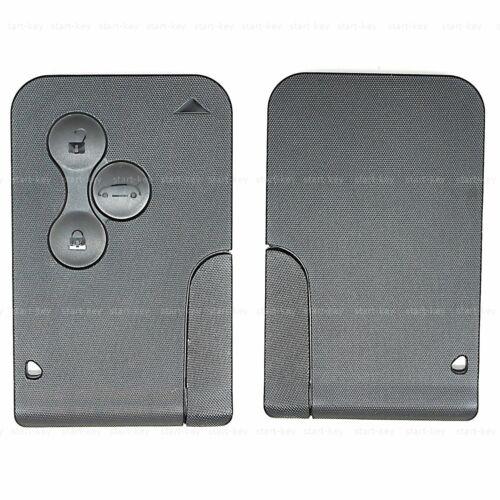 Tarjeta de clave chasis de repuesto 2003-2011 llave para Renault Megane scenic