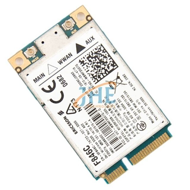 Unlocked Dell 5530 Eircsson F3507G C687R 3G GPS HSPA WWAN MINIPCI-E WIRELES Card
