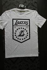 Adidas Herren T-Shirt NBA Los Angeles LA Lakers Größe S Neu mit Etikett