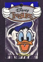 Lmh Patch Badge Donald Duck Head Face Walt Disney World Products Treasures Park