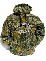 Cabela's Seclusion 3d Athletic Hunting Hoodie Men's Heavyweight Sweatshirt 2xl
