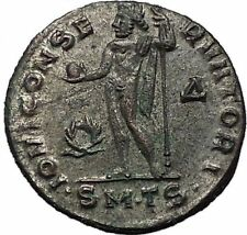 Constantine I 'The Great' 312AD Ancient Roman Coin Jupiter Zeus Cult i55615