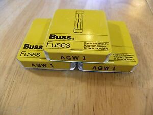 image is loading cooper-bussmann-agw-1-new-old-storage-fuse-
