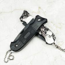 Cuchillo Táctico de la Supervivencia de Rescate de acero Inoxidable