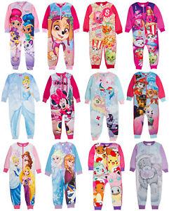 Lion King Kids All in One Boys Girls Childrens Fleece Pyjama Sleepsuit 1.5-5