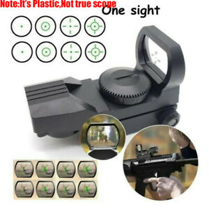 Plastic-Green-Dot-Tactical-Hunting-Rifle-Toy-Holographic-Green-Laser-Sight-Scope