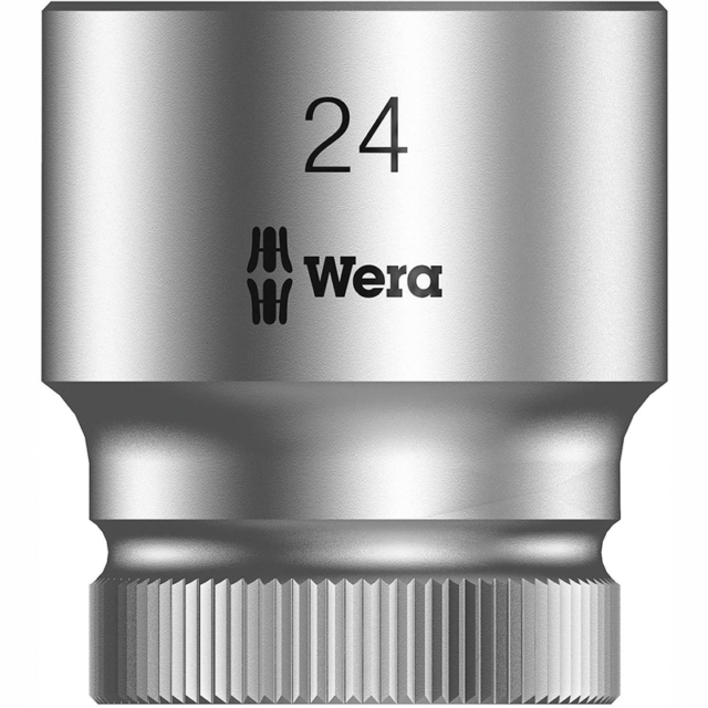 Wera Zyklop 8790 HMC 1//2-Inch Socket Hex Head 17mm x Length 37mm