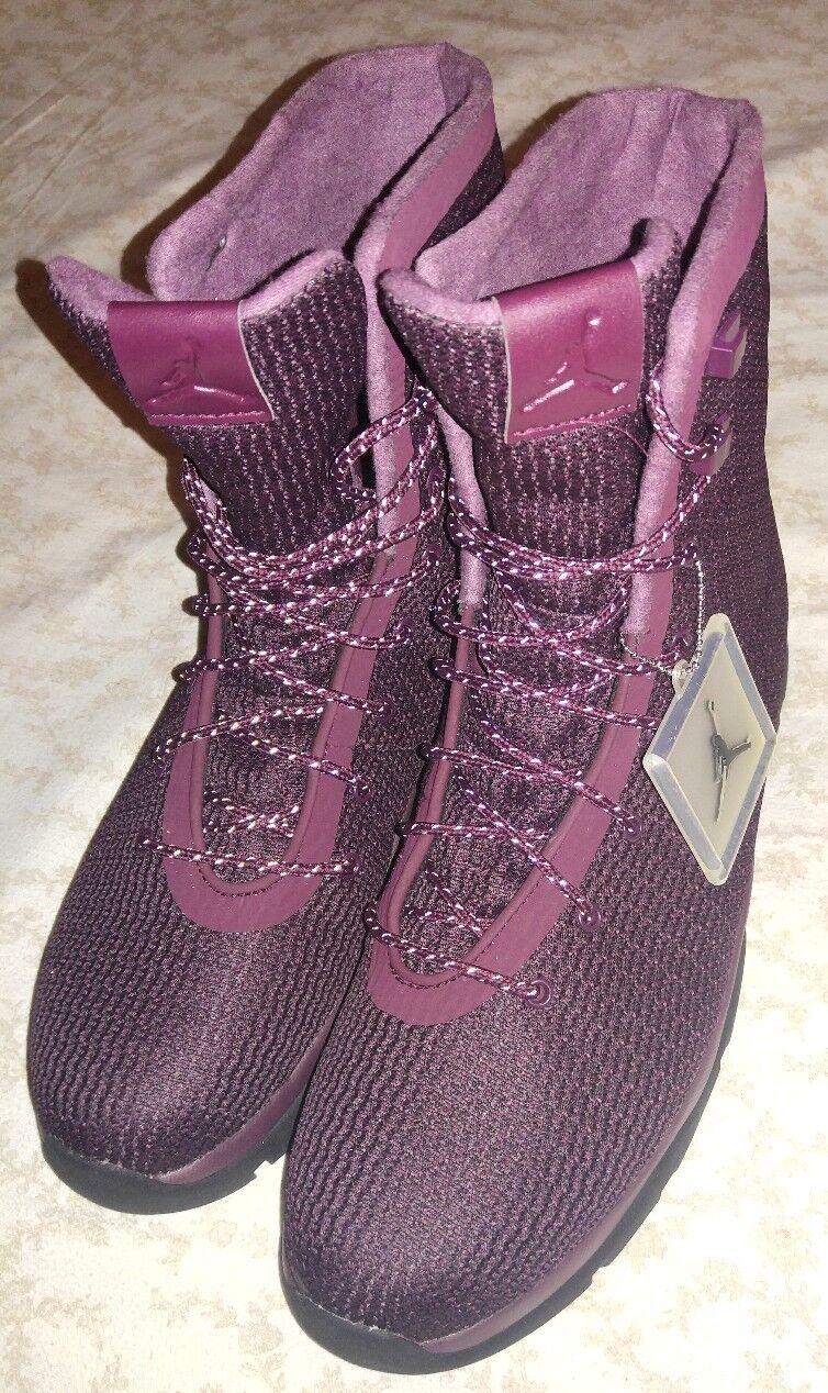 Nike jordan futuro boot notte bordeaux / nero-infrared 854554-600 sz 14 msrp 225