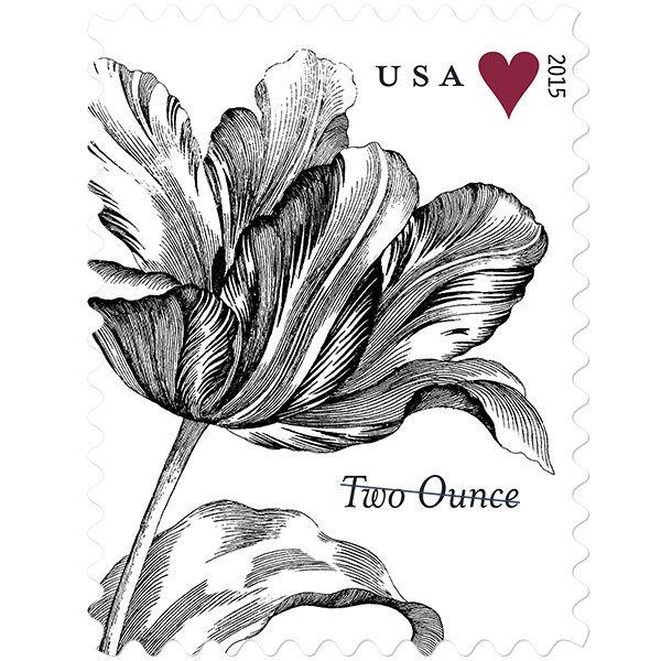 2015 71c Tulip & Heart, Special Issue Scott 5002 Mint F