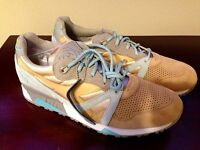 Brand Diadora N9000 24k Sol Size Us 12.5 Made In Italy Deadstock