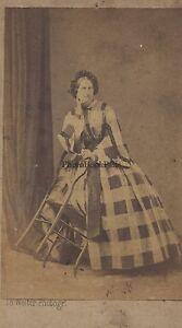 Walters Fotografia Primitivo A Nantes Carte de visite Vintage Albumina Ca 1860
