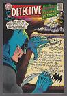 DETECTIVE COMICS #366 1967 VF- BATMAN Round-Robin Death Threats ELONGATED MAN
