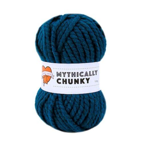 Pack de 2-CYGNET YARNS mythically Chunky Sérieusement Chunky Acrylique Laine