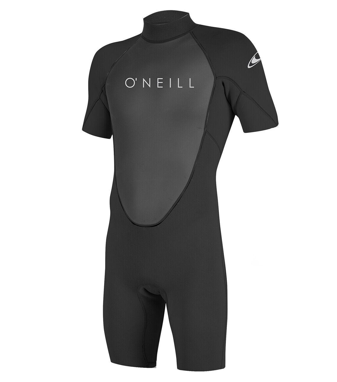 O 'Neill Reactor 2 para hombres 2mm Shorty Traje 2019-negro
