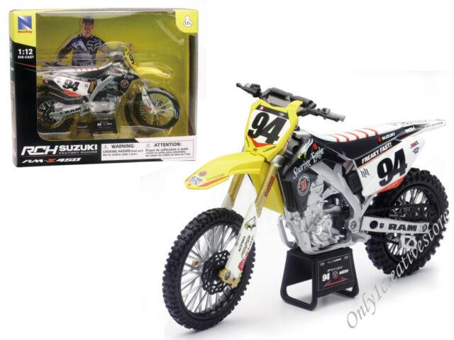 NewRay RCH Suzuki Rm-z450 Factory Racing Ken Roczen #94 Dirt Bike 1