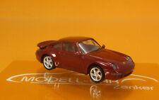 Herpa automóviles Porsche 911 Turbo negro 021890