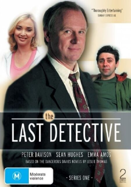 The Last Detective : Series 1 (DVD, 2007, 2-Disc Set) R4..DISCS LIKE NEW   F176