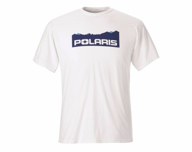 Polaris New OEM Roseau Tee Heather Blue XL Mens 286777809