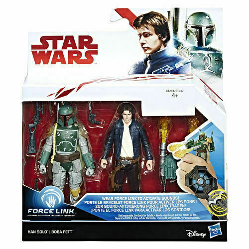 STAR WARS FORCE LINK 2.0 THE LAST JEDI EXCLUSIVE ACTION FIGURE 5 PACK BNIB
