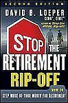 Stop the Retirement Rip-off: How to Keep More of Your Money for Retire-ExLibrary