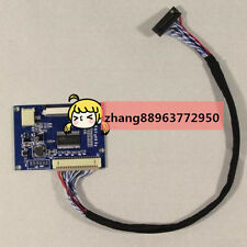 LVDS-TTL T-conboard work for 7inch 9inch 800x480 800x600 50Pin lcd AT070TN92 zh8