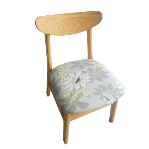 Esszimmer Bankett Stuhlabdeckung Sitzbezug Stretch Spandex Stuhlbezüge Blumen