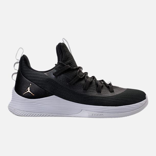 AUTHENTIC Nike Air Jordan Ultra Fly 2 Low Black Metallic gold White Men size