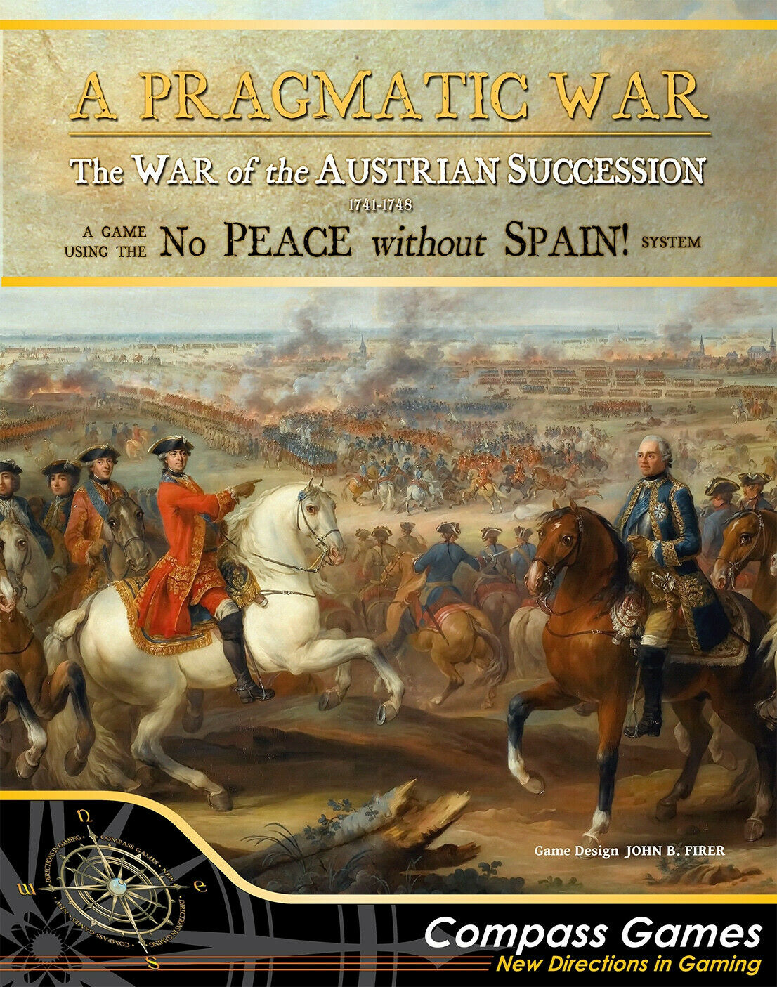 CPS1067 Compass Games - A Pragmatic War  The War of Australian Succession