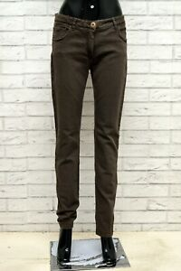 Pantalone-ETRO-Donna-Taglia-Size-31-Jeans-Pants-Woman-Cotone-Slim-Skinny-Fit