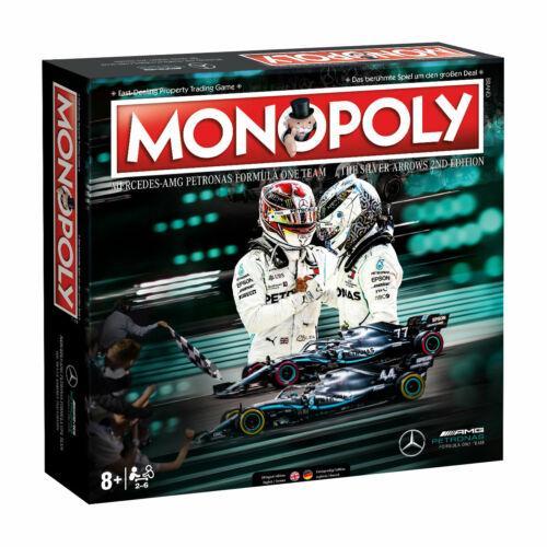 MERCEDES giochi pacchetto Monopoly carte da gioco Top Trumps Puzzle tedesco//inglese