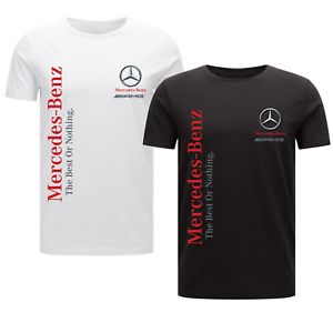 MERCEDES-BENZ-T-SHIRT-THE-BEST-OR-NOTHING-F1-MOTOR-SPORT-GERMAN-LEWIS-HAMILTON
