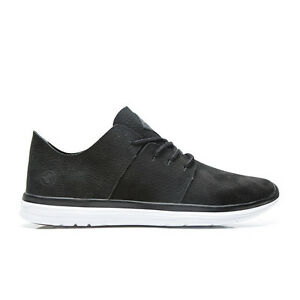 Men-039-s-Kustom-Scape-XT-Black-Leather-Casual-Shoes-Size-8-13-NIB-RRP-149-99