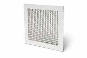 Aluminium-egg-crate-grille-white-ventilation-office-ceiling-supply-extract-vent