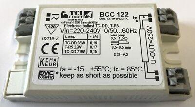 TCI Lighting HF Digital Ballast 21w 22w 26w 28w 2D BCC122 ...