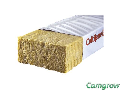 Cultilene Stonewool Optimaxx 1.0 Mètre Rockwool dalles Hydroponics