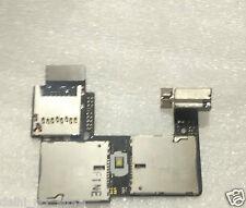 For Motorola Moto G2 XT1068 Dual Sim Card Reader SD Memory Slot Tray Holder Flex