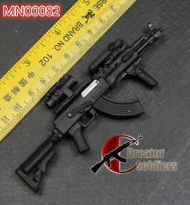 Details about PUBG 1/6 1:6 BattleField AKM AK47 Assault Rifle Assemble  Modern Warfare metal