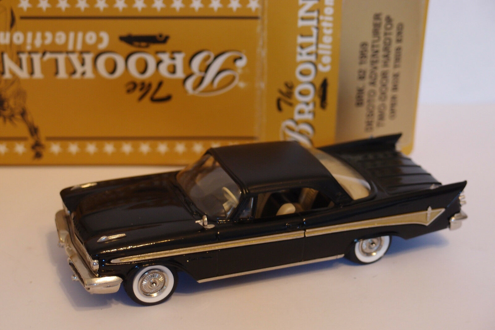 BROOKLIN BRK 82 1959 DESOTO ADVENTURER TWO-DOOR HARDTOP 1 43