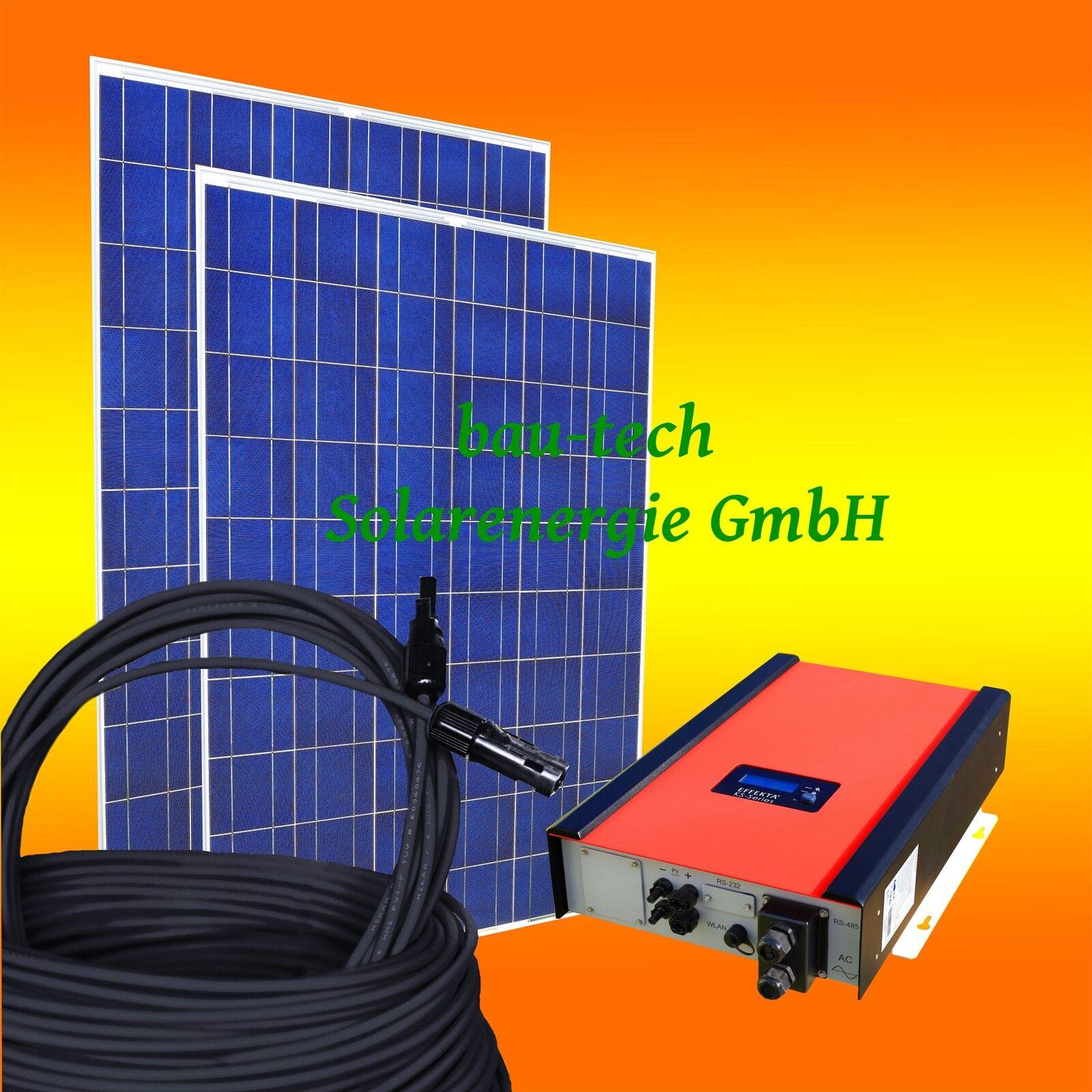 10KW / 10000Watt Photovoltaikanlage PV Solar Anlage / Set mit Wechselrichter
