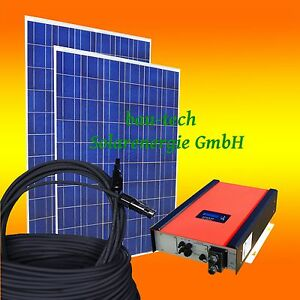 10kw 10000watt photovoltaikanlage pv solar anlage set mit wechselrichter. Black Bedroom Furniture Sets. Home Design Ideas