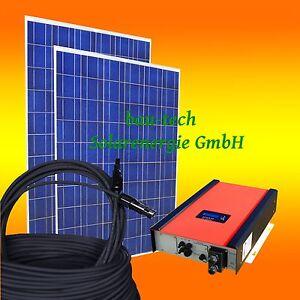 10kw 10000watt photovoltaikanlage pv solar anlage set mit wechselrichter ebay. Black Bedroom Furniture Sets. Home Design Ideas