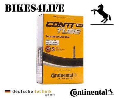 Continental Tour 26 Slim Tube 26 x 1 1//8-1.3 inch Presta Valve Inner Tube