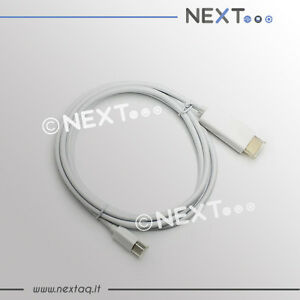 Cavo-adattatore-da-mini-displayport-a-hdmi-1-8M-per-Macbook-Macbook-Pro-Air