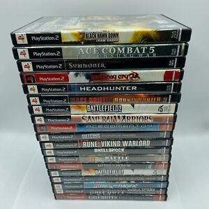 Playstation 2 Ps2 Video Games I Good Condition I Complete, Cleaned I War CIB
