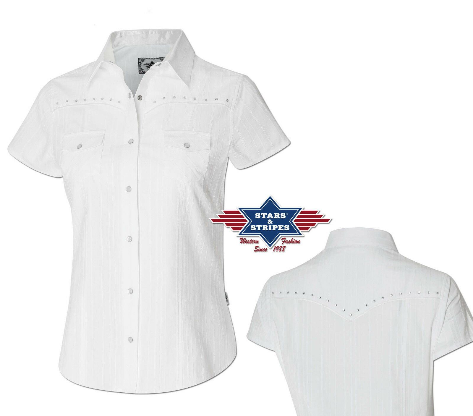 Country Cowboy Western Blause  Amelie  Gr. XS - 2XL