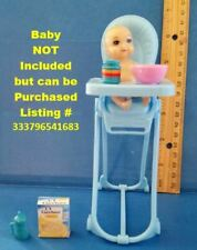 Barbie Doll 1:6 Miniature Food Bottle Cup Diapers Soap Ducky for Baby Krissy