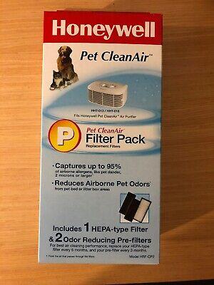 Pet CleanAir Replacement Filter Combo Pack Filter P Honeywell HRF-CP2 HEPA