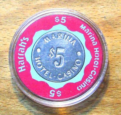 Joe/'s Longhorn Casino N Las Vegas NV $5 Chip 1990